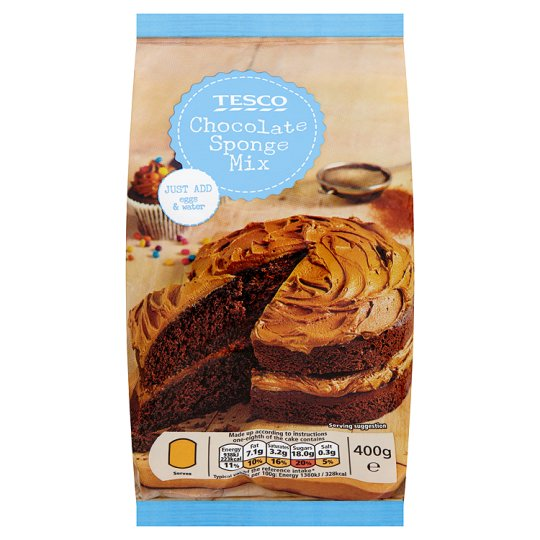Tesco Chocolate Cake Mix