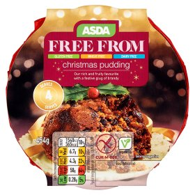 ASDA Free From Christmas Pudding | My Vegan Supermarket